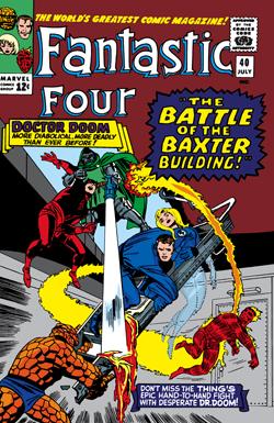 Resultado de imagen para fantastic four 40
