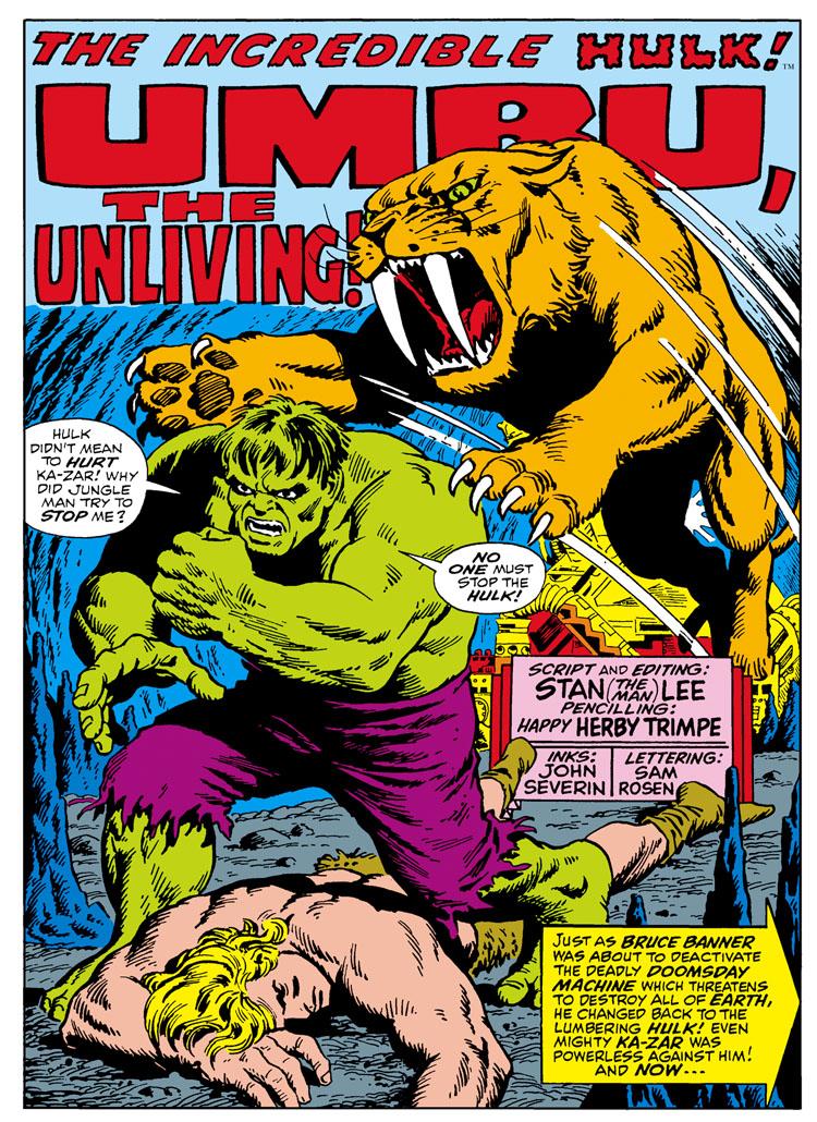 Incredible Hulk #110